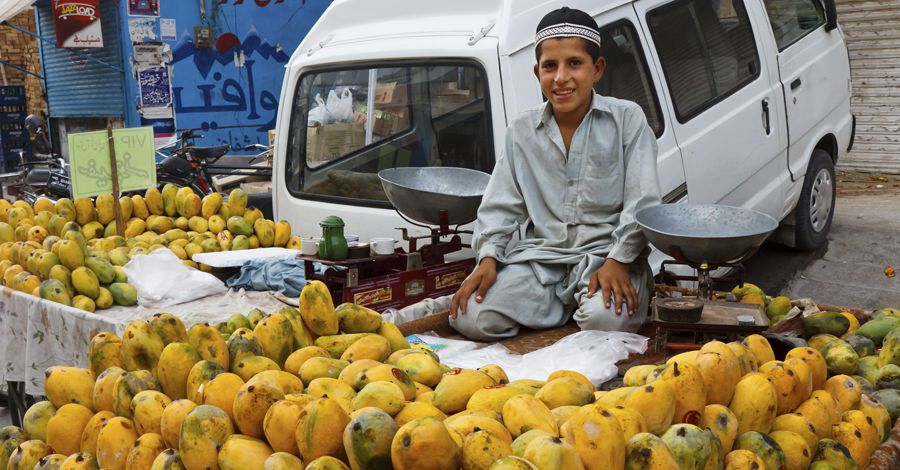 Boy in Pakistani Market